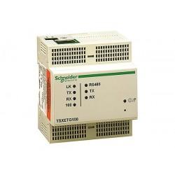 APC / Schneider Electric - TSXETG100 - APC by Schneider Electric ConneXium Ethernet Gateway TSXETG100 - Twisted Pair - 1 x Network (RJ-45) - 10/100Base-TX - Fast Ethernet - Rail-mountable