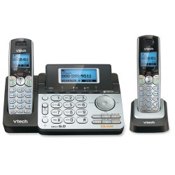 AT&T / VTech - DS6151_DS6101 - VTech DECT 6.0 1.90 GHz Cordless Phone - Cordless - 2 x Phone Line - 1 x Handset - Speakerphone - Answering Machine - Backlight