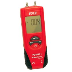 Pyle / Pyle-Pro - PDMM01 - Pyle Pdmm01 Digital Manometer With 11 Units Of Measure And