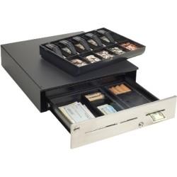 MMF Industries - ADVINABOXUS04 - Cash Drawer 18x16.7stnl Ft 3slt Us Til Ptr Cbl Incl K-rndm Blk
