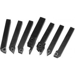 ABS Import Tools - 20020107 - C-6 Replacement Inserts & Screws for Indexable Cut Off and Turning Tool Sets