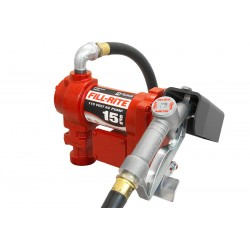 Fill-Rite - FR610G - 1/4 HP Cast Iron Rotary Vane Manual Fuel Transfer Pump, 15 GPM, 115VAC and 230VAC