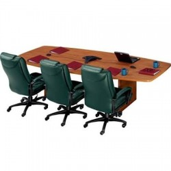 ABCO Office Furniture - CBS-SS-46120 - 46 X 120 BOAT TABLE (Each)