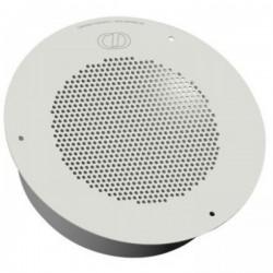 CyberData - 011121 - CyberData Speaker - Signal White - Ceiling Mountable, In-wall