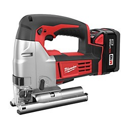 Milwaukee Electric Tool - 2645-22 - Milwaukee M18 18 V Lithium Ion Redlithium XC 2700 SPM Cordless Jig Saw Kit (Includes M18 And M12 Multi-Voltage Charger, (2) M18 Redlithium XC Extended Capacity Battery, M18 Cordless Lithium-Ion Jig Saw And Carrying