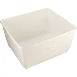 Remco - 6925 - Storage Tote, White, 21-7/64H x 40L x 36W, 1EA