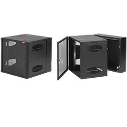 Hoffman Enclosures - EWMW242425 - Access Plus Type 1 Wall Mount Cabinet, Double-hinged, Blk, 24 X 24 X 25