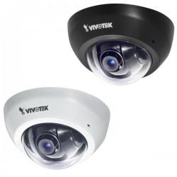 Vivotek - FD8166-F2-B - Vivotek FD8166-F2 2 Megapixel Network Camera - Color - 1920 x 1080 - CMOS - Cable - Fast Ethernet - Dome