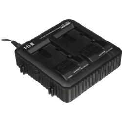 JVC - LC-2J - JVC 2 Channel Charger - 12 V DC Input - 7.4 V DC, 8.4 V DC Output - 2
