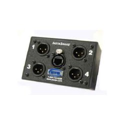 Energy Transformation Systems - PA202M - ETS Instasnake Adaptor - 4 MXLR to RJ45 Jack All Pins