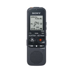 Sony - ICDPX333 - Sony ICD PX333 Digital Voice Recorder - 4 GB Flash MemoryLCD - Headphone - 96 HourspeaceRecording Time - Portable