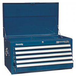 Kennedy - 3400MPBL - 00871 Smooth Blue 5 Drawer Maintence Chest
