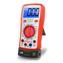 Pyle / Pyle-Pro - PDMT38 - Pyle PDMT38 Electric Voltage Measuring Device - Resistance Measure, Current Measurement, Voltage Monitor, Range Measurement