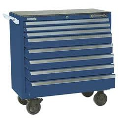 "Kennedy - 3900MPBL - Blue Combination Tool Chest/Cabinet, Maintenance Pro , Width: 39-3/8"", Depth: 20"", Height: 39"""