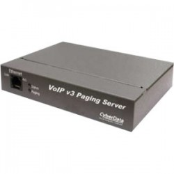 CyberData - 011146 - CyberData VoIP V3 Paging Server 011146 replaces 011092