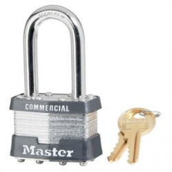 "Master Lock - 1KALF-2357 - 4pin Tumbler Padlock Keyed Alike W/1-1/2""shackle"