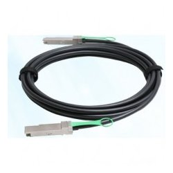 Arista Networks - CAB-Q-Q-0.5M - Arista Networks Twinaxial Cable - Twinaxial for Network Device - 1.64 ft - QSFP+ - QSFP+