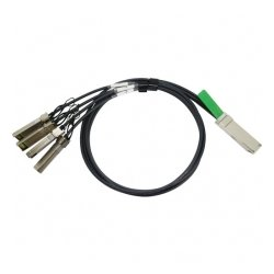 Arista Networks - CAB-Q-S-0.5M - Arista Networks Twinaxial Cable - Twinaxial for Network Device - 1.64 ft - QSFP+ - 4 x SFP+ Network