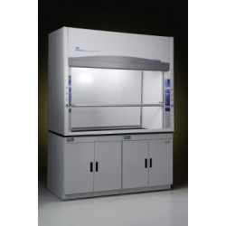 Labconco - 100600061 - 6'' Protector Premier Laboratory Hood with built-in exhaust blower and 2 service fixtures