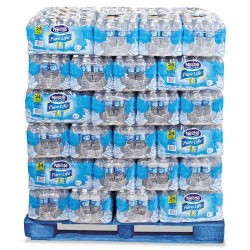 Nestle - 101264 - Pure Life Purified Water, 0.5 liter Bottles, 24/Carton, 78 Cartons/Pallet