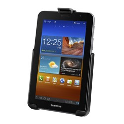 Ram Mounting Systems - Ram-hol-sam6u - Ram Ez-roll'r Model Specific Sync Cradle For The Samsung Galaxy Tab 7.0 Plus Without Case/sleeve/skin