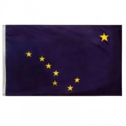 Annin - 140170 - Alaska State Flag, 4 ft. Height, 6 ft. Width