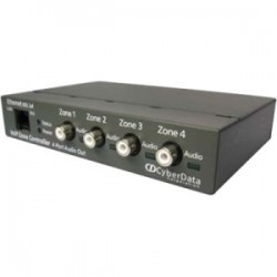 CyberData - 011171 - CyberData SIP-enabled IP Paging V3 Zone Controller with 4-Port Audio Out