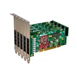 Sangoma - A20804D - Sangoma A20804D Voice Board - 8 x RJ-11 FXO, 16 x RJ-11 FXS - PCI - 2U
