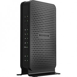 Netgear - C3000-100NAS - Netgear C3000 IEEE 802.11n Cable Modem/Wireless Router - 2.40 GHz ISM Band - 340 Mbit/s Wireless Speed - 2 x Network Port - USB - Gigabit Ethernet - Desktop