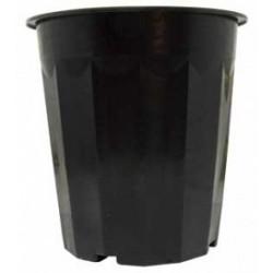 Hydrofarm - HG16QBK - Black Plastic Pot, 16 qt, pack of 50
