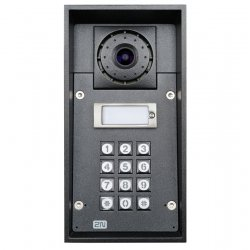 2N Telecommunications - 9151101CK - Helios IP Force - 1 button & camera & keypad