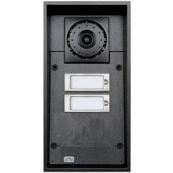 2N Telecommunications - 9151102CR - 2N Helios IP Force - 2 buttons + camera (card reader ready)