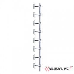 Telewave - ANT450D6-9-6DT - 406-512 5dB Exp.Dipole Antenna w/ 3 Deg. DT