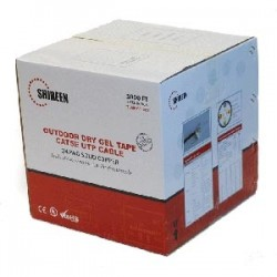 Shireen - CAT5E-DGEL - Outdoor Cat5e DryGel Taped 1000ft Spool