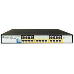 AudioCodes - M800-12S-12L-P - AudioCodes Mediant 800 Multi-Service Business Gateway - 1 x RJ-45 - 4 x FXS - 4 x FXO - USB - PoE Ports - Gigabit Ethernet - 1U High
