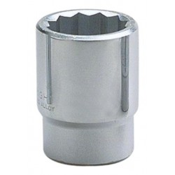 "Wright Tool - 61-54MM - 54mm Forged Steel Socket with 3/4"" Drive Size and Chrome Finish"