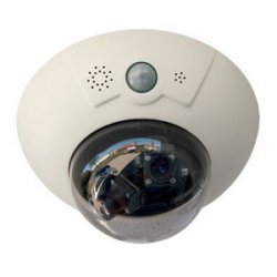 Mobotix - MX-D14DI-SEC - Indoor megapixel dual (excluding camera modules $151 each) comes with tinted and transparent dome