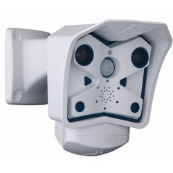 Mobotix - MX-M12D-SEC-DNIGHT-D43N43 - Indoor and Outdoor megapixel dual lens camera including wide angle day (color) (43 mm) and wide angle night (black and white) (43 mm) - Dnight: automatic day/night switching depending on illumination