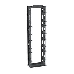 Black Box Network - RM940A-R2 - Black Box Rack Manager II, 84H (45U) - Cable Manager - Black - 45U Rack Height - Steel