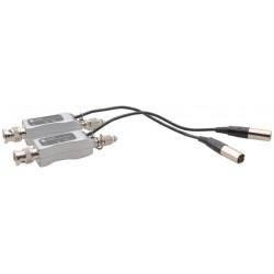 Kramer Electronics - 613R/T - Fiber Optic Solutions; 3G HD-SDI Mini Optical Transmitter and Receiver