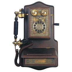 Paramount Phones - WOODEN-WALL - 1907AW Wooden Wall Phone