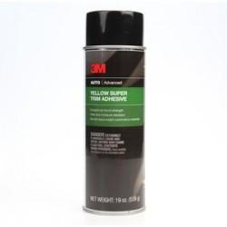 3M - 08090 - Super Trim Adhesive, Yellow, 19 oz Net wt/ 539 g, 6 Per Case