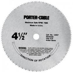 """Porter Cable - 12057 - 4-1/2""""x3/8"""" Circular Sawblade"""