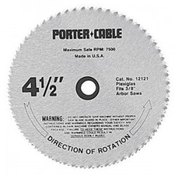 "Porter Cable - 12122 - 4-1/2""x3/8"" Circular Sawblade Metal Lamin"