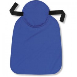 Ergodyne - 12336 - Chill-its 6717 Hrd Hat Pad & Neck Shade Sld Blu