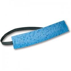 Ergodyne - 12436 - Dwos Chill-its 6607 Sponge Sweatband Onesize Blu