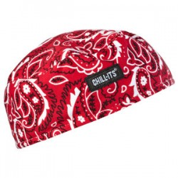 Ergodyne - 12508 - Chill-Its 6630 Red Western Green High-Performance Cap