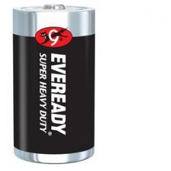 Energizer - 1250 - Eveready General Purpose Battery - 8000 mAh - D - Zinc Manganese Dioxide (ZnMnO2) - 1.5 V DC