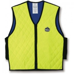 Ergodyne - 12537 - Chill-its 6665 Evaporative Cooling Vest 3xl Lime