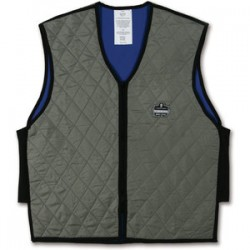 Ergodyne - 12544 - Chill-its 6665 Evaporative Cooling Vest Lg Gray